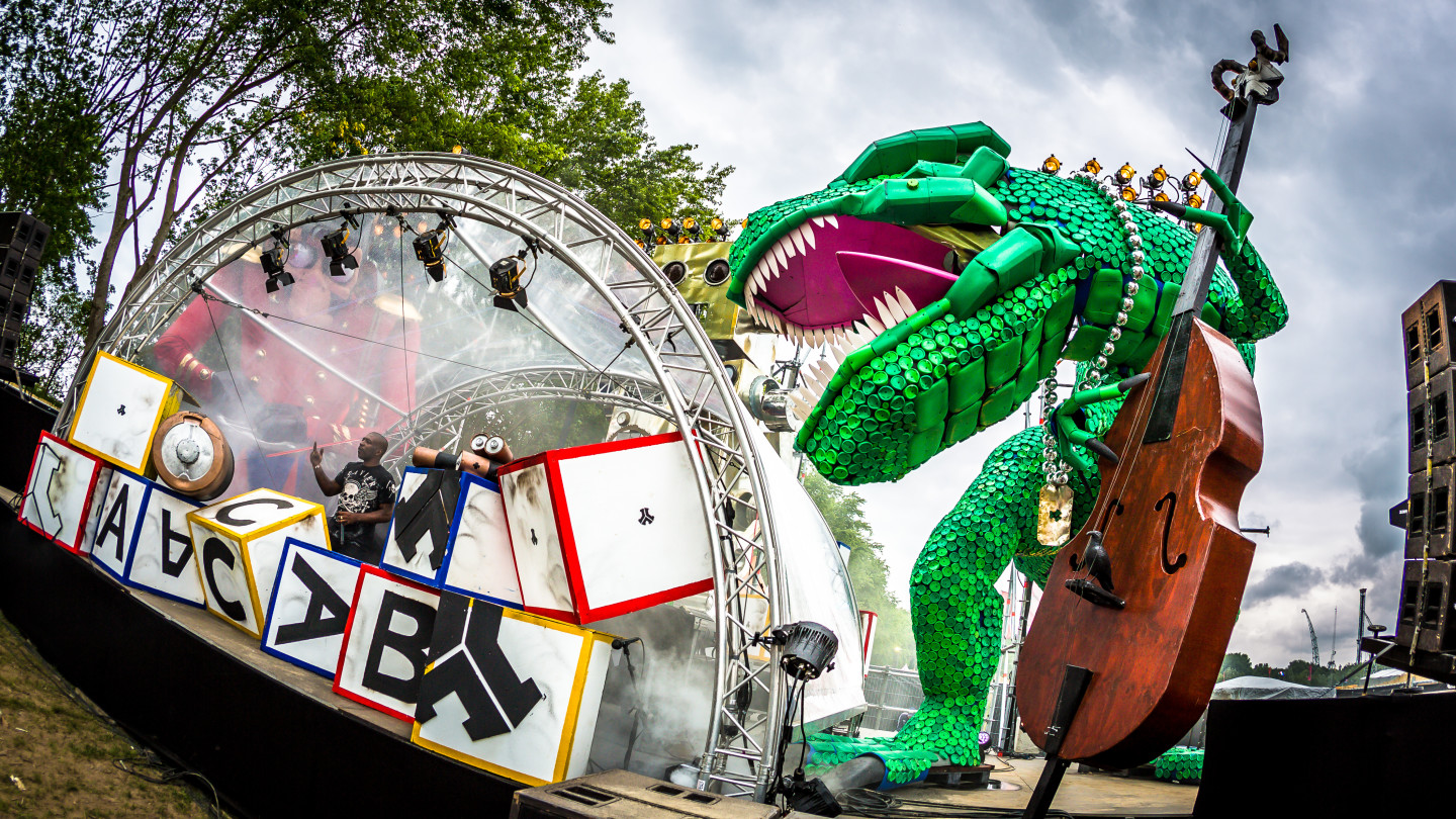 Q-dance   Defqon 1 Weekend Festival 2019   Enter the two